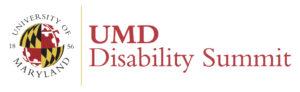 Decorative: UMD Disability Summit logo